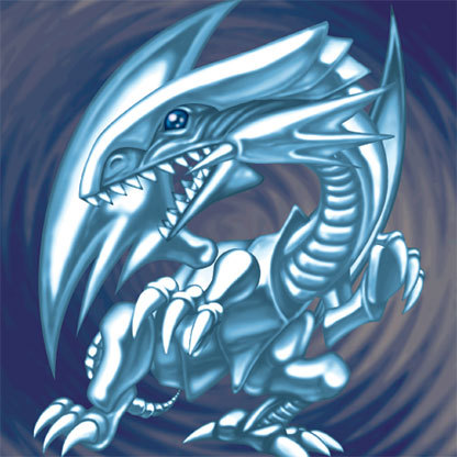 Image result for blue-eyes white dragon