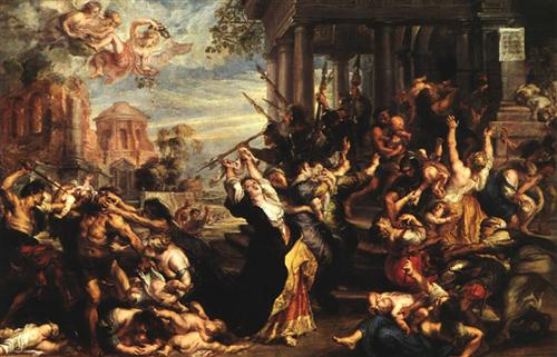 Massacre of the Innocents - Peter Paul Rubens