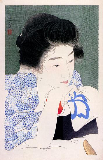'Waking' Torii Kotondo 1932