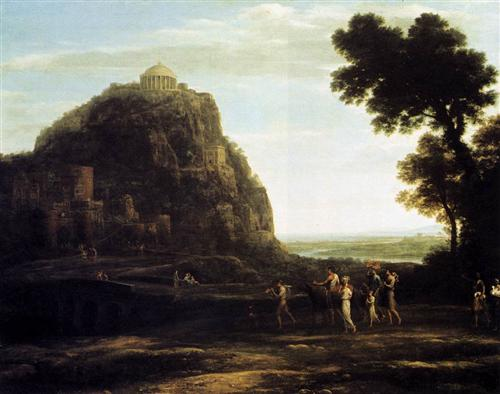 View of Delphi - Claude Lorrain