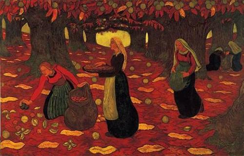 Chestnut Gatherers - Georges Lacombe