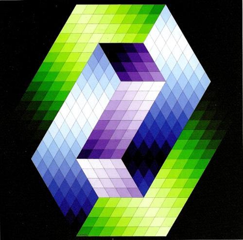 Keple Gestalt - Victor Vasarely