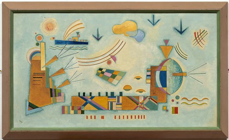 Mild process (Credits: Wassily Kandinsky, 1928)