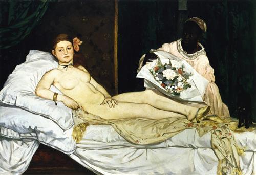 Olympia - Edouard Manet