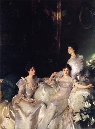 The Wyndham Sisters - John Singer Sargent