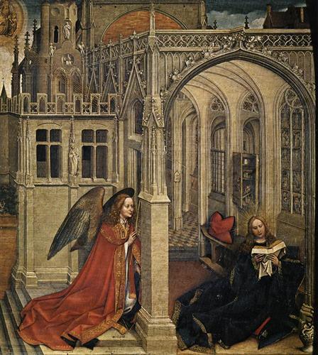 The Annunciation - Robert Campin