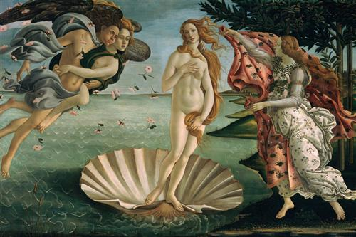 The Birth of Venus - Sandro Botticelli