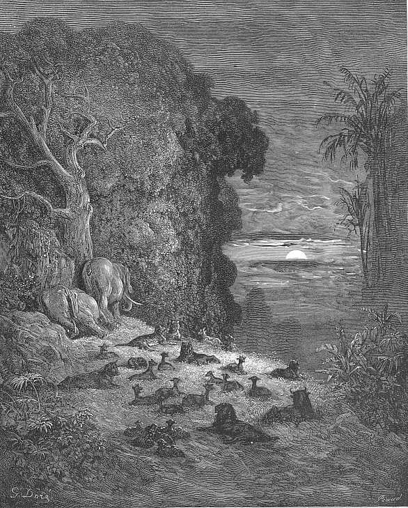 Satan Sin And Death Paradise Lost Book: Gustave Doré's Paradise Lost