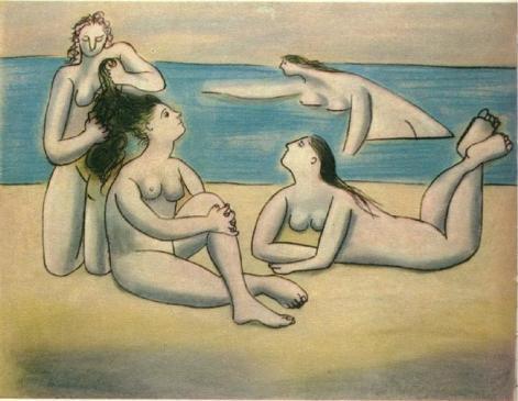 Bathers, 1920 - Pablo Picasso
