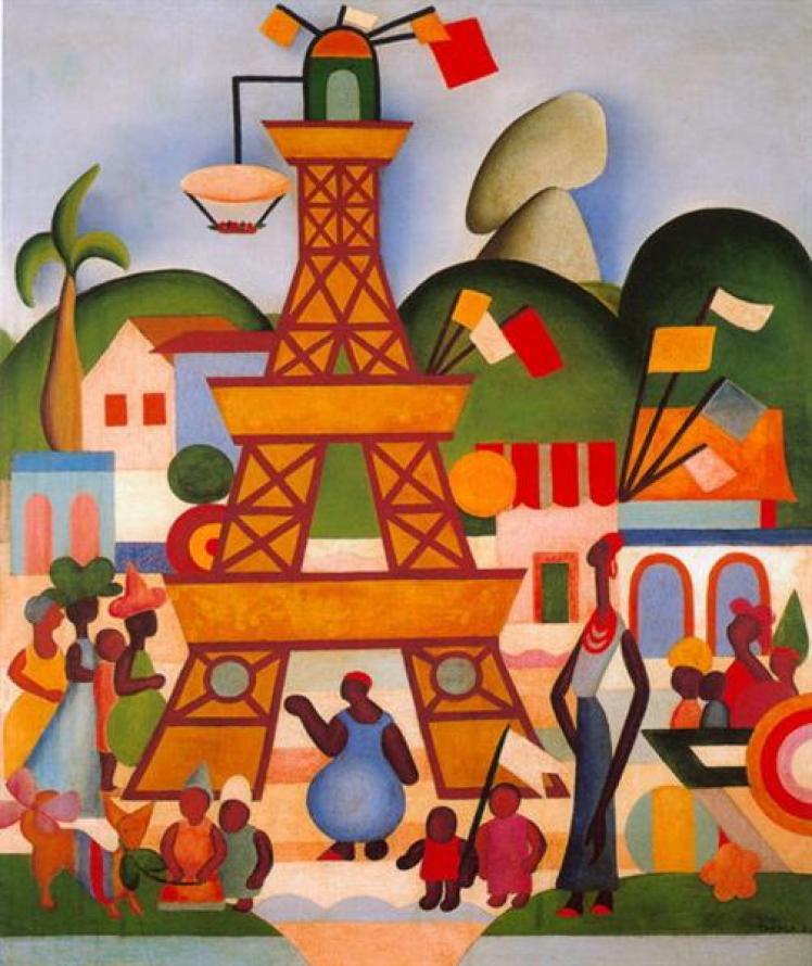Carnaval em Madureira, 1924 - Tarsila do Amaral