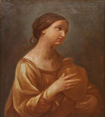 Magdalene with the Jar of Ointment - Guido Reni
