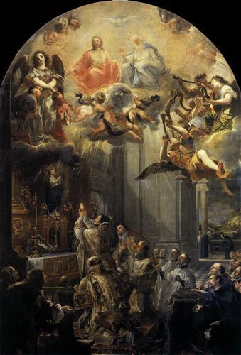 Mass of St John of Mathaa - Juan Carreno de Miranda