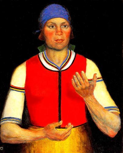 Worker - Kazimir Malevich