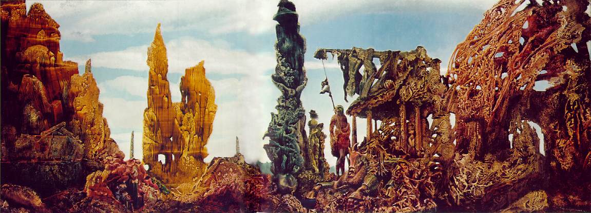 Max Ernst. Europe After the Rain II (1940–1942)