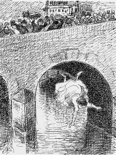Camille Pissarro,  Impressionism, suicide, abandonment, Waka, haiku,