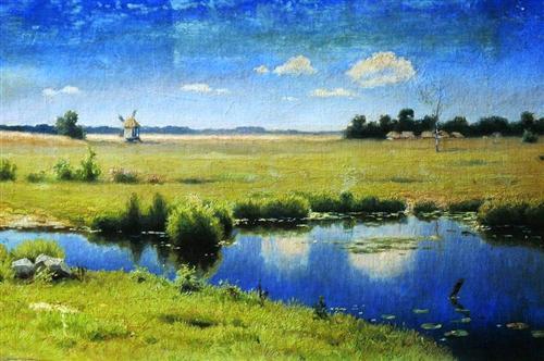 River in Ukraine - Efim Volkov