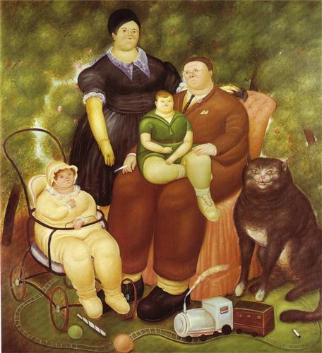 haiku, carpe diem challenge, writing challenge, Fernando Botero