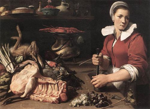 Cook With Food - Frans Snyders