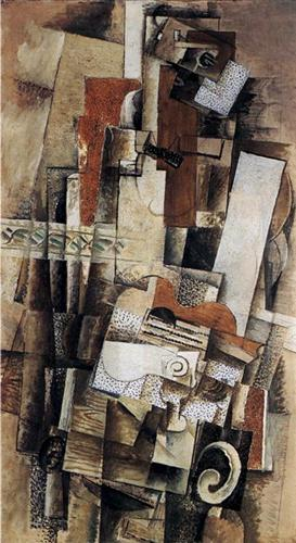 Man with a Guitar - Georges Braque