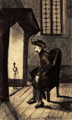 Near the Hearth - Vincent van Gogh