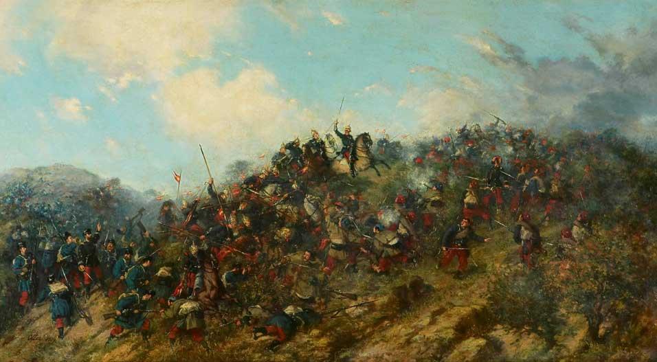La Batalla de Treviño