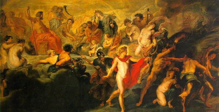 The Council of the Gods, 1622 - 1624 - Peter Paul Rubens - WikiArt.org