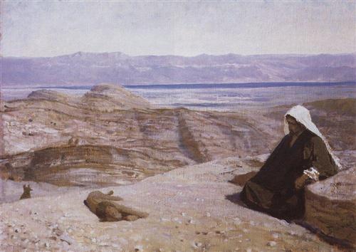 Has been in desert - Vasily Polenov