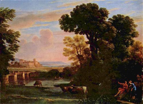 Pastoral Landscape - Claude Lorrain
