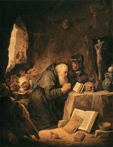 The Temptation of St. Anthony - David Teniers the Younger