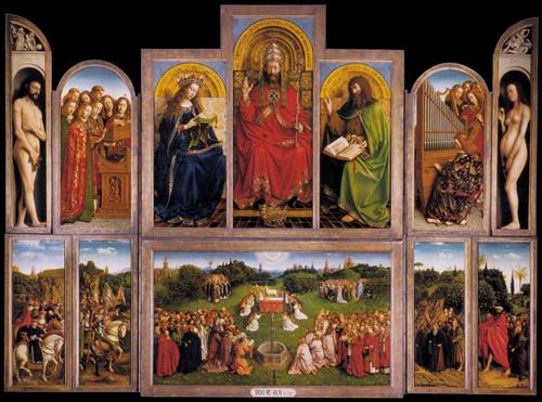 The Ghent Altarpiece - Jan van Eyck