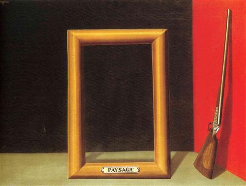 The delights of landscape - Rene Magritte