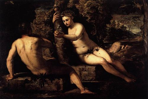 The Temptation of Adam - Tintoretto