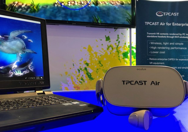 TPCast Air Oculus Quest go VR Streaming