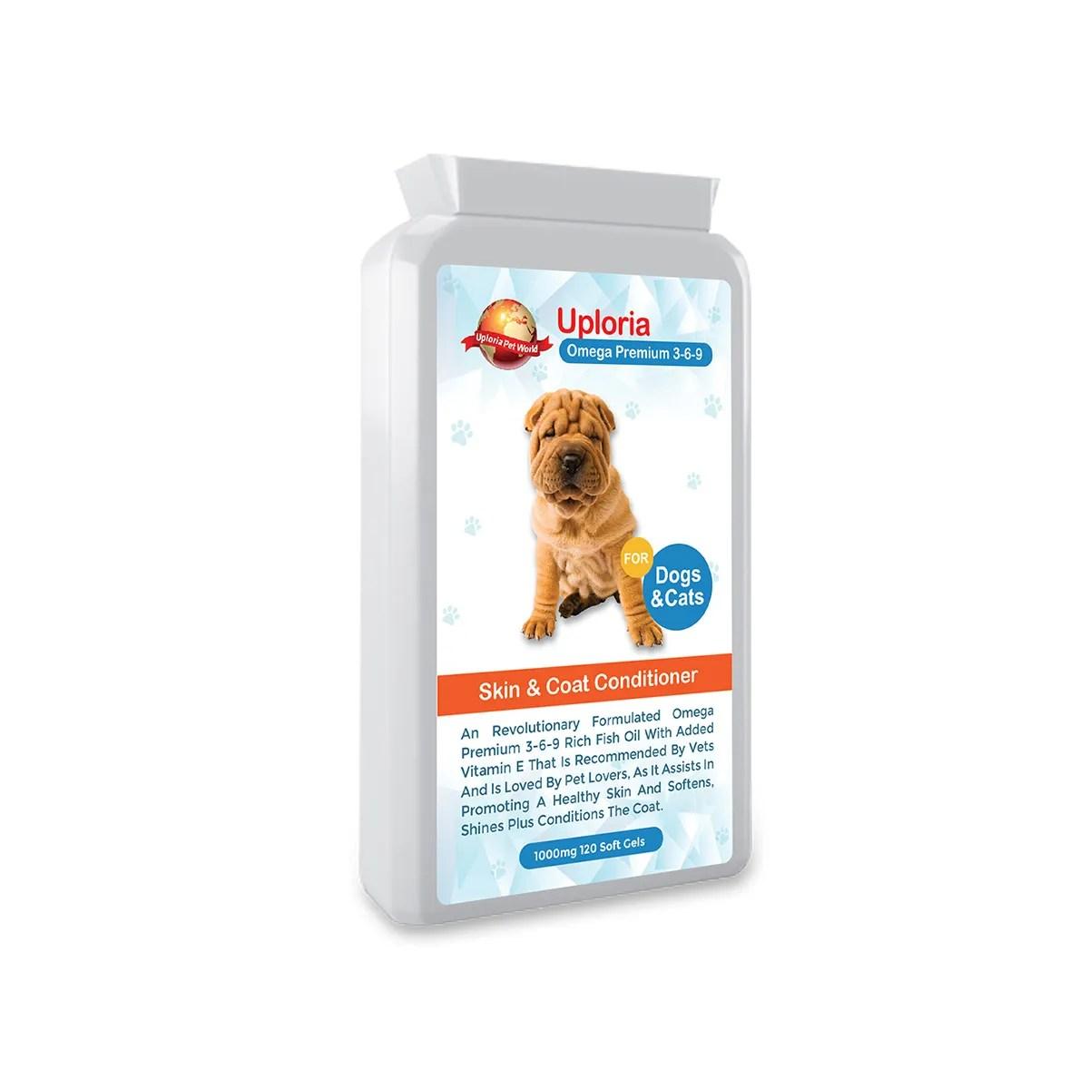 Omega oil capsules for Dogs