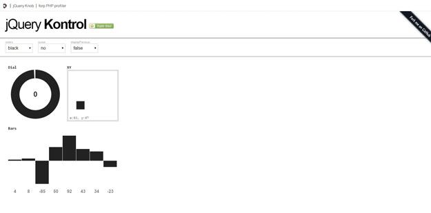 010 jquery kontrol - Lista dos melhores plugins JavaScript para criar gráficos circulares