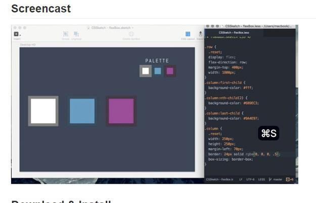 12 cssketch - 15 ferramentas para animação CSS3 que todo programador deve conhecer
