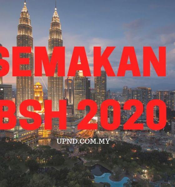 BUAT SEMAKAN PERMOHONAN BSH 2020