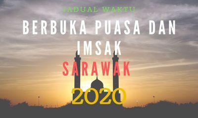 WAKTU BERBUKA SARAWAK 2020