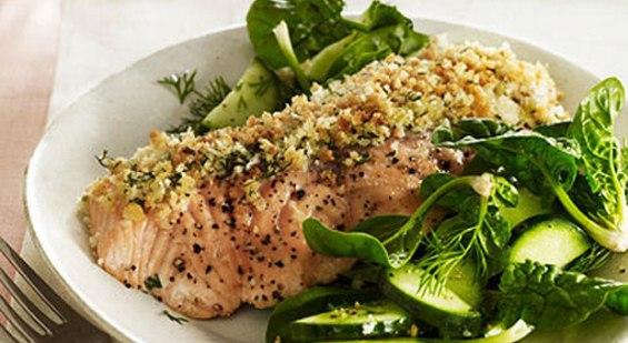 HorseRadish Salmon Recipe