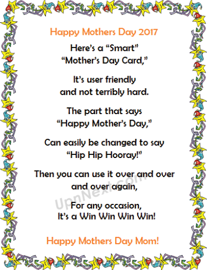 Happy Mothers Day Poem Images