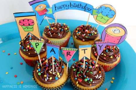 decorate own cupcake birthday party