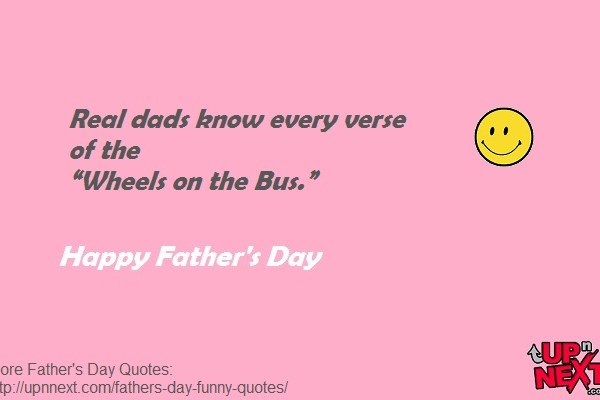 Short Funny Dad Quotes