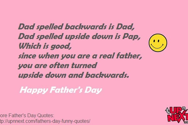 Funny Father's Day Quote