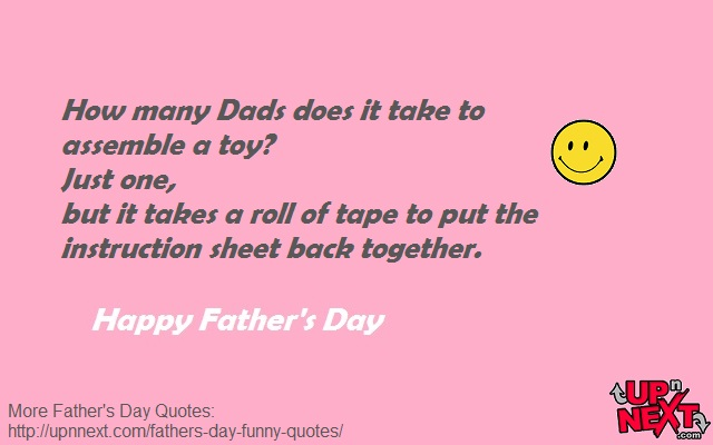 Funny Quotes for Dad on Fathers Day