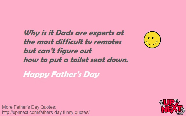 Funny Quotes on Fathers Day