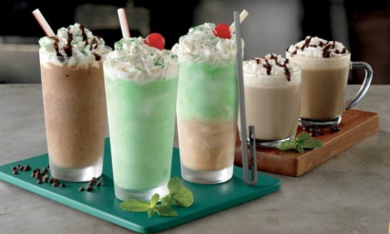 Shamrock Shakes for Father's Day