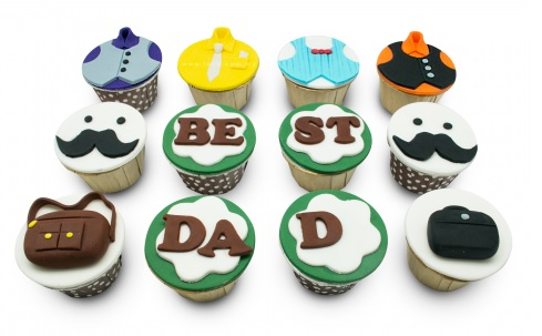 Cupcakes for Dad on Christmas