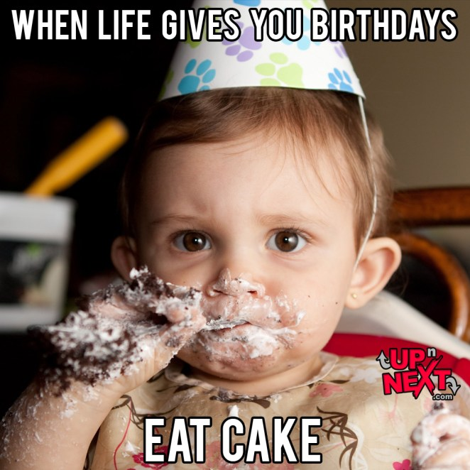 happy birthday funny cake meme