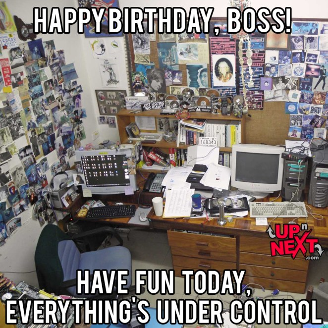 funny boss birthday meme