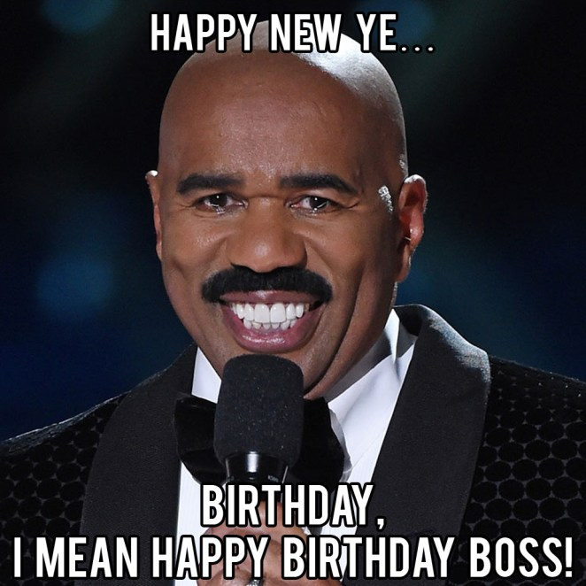 happy birthday boss images funny